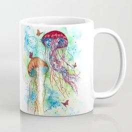 Jellyfish Garden Coffee Mug
