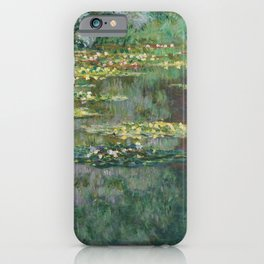 Water Lilies 1904 by Claude Monet iPhone Case