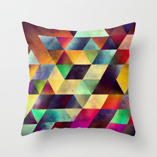 lymyrynz Throw Pillow