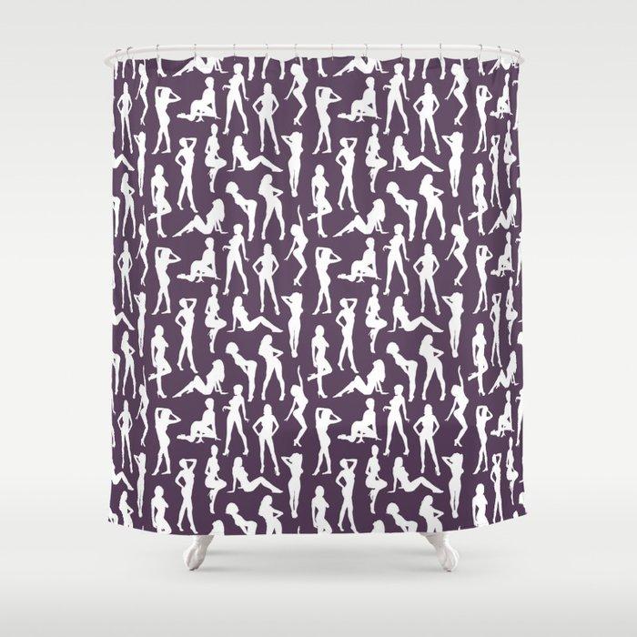 Femmes // Bossanova Shower Curtain