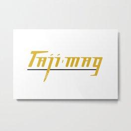 Taji Mag III Metal Print