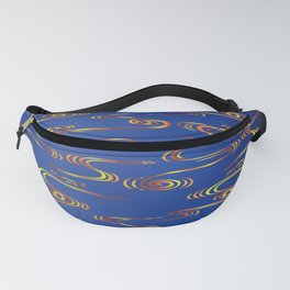 Traditional Japanese pattern RYU-SUI Fanny Pack