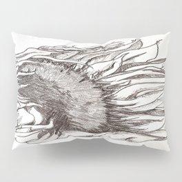 sunflower black and white Pillow Sham