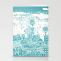 earth Stationery Cards featuring Earth by David Fleck