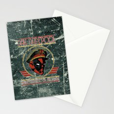Dan Darepool: Insane Ninja-Merc of the Future Stationery Cards