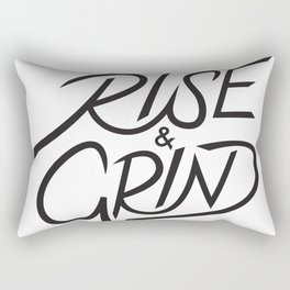 Rise and Grind Rectangular Pillow