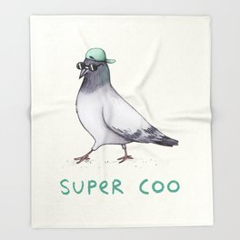 Super Coo Throw Blanket