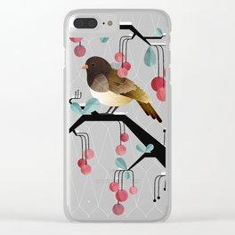 Bird, Watching Clear iPhone Case