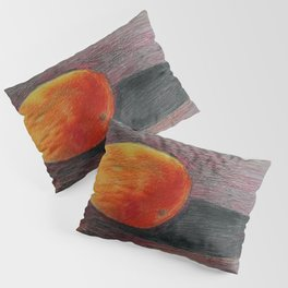 Mango still life painting by Joseph Stella Pillow Sham