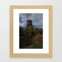 Ironbridge Cooling Towers Framed Art Print