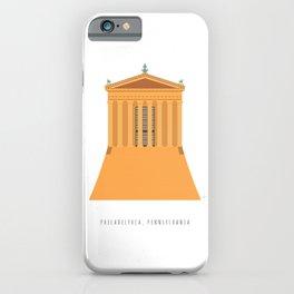 Philadelphia Museum Steps, Pennsylvania, USA iPhone Case