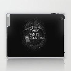 The Timey Wimey Zone Laptop & iPad Skin