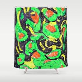 Sketchbook 36 (Melty Franken Toes) Shower Curtain