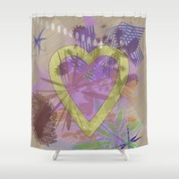 focus Shower Curtains featuring Focus by Keagraphics