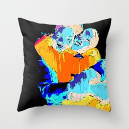 Africa Love Throw Pillow