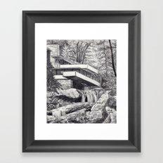 Frank Llyod Wright Framed Art Print