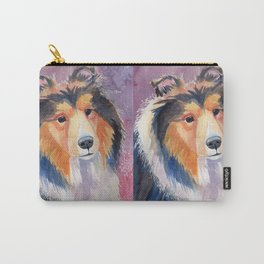Shetland sheepdog coloristic Carry-All Pouch
