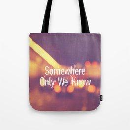 Somewhere II Tote Bag