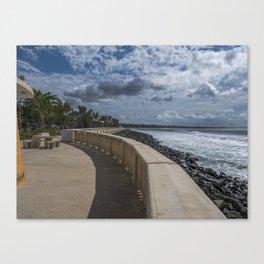 Aguadilla ocean view Canvas Print