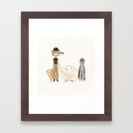 E.T Framed Art Print