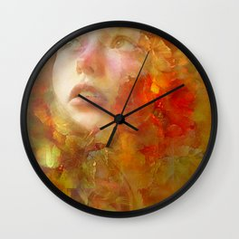 Garden of the Delights Wall Clock
