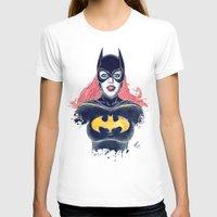 batgirl T-shirts featuring Batgirl by Alejandro Pinpon
