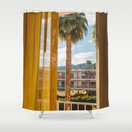 Palm Springs Dreams Shower Curtain