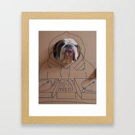 DJ Leland Framed Art Print