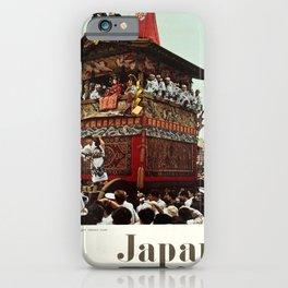 Affiche Travel Poster Japan Tourist Association Gion Festival Kyoto iPhone Case