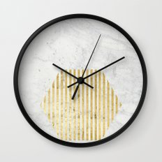 esa gOld Wall Clock