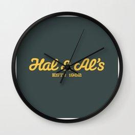 Hal & Al's Breakfast Wall Clock