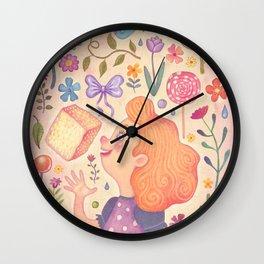 Sugar and Spice Wall Clock