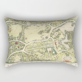 Strolling through history Rectangular Pillow