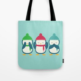 No Evil In Holiday Tote Bag