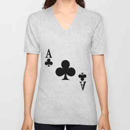 Ace of Clubs Unisex V-Neck