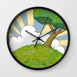 I want to be there Wall Clock