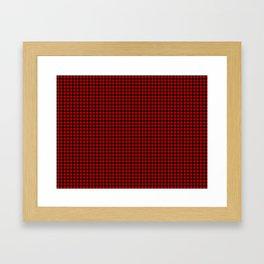 Ramsay Tartan Framed Art Print