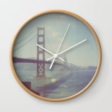 Golden Gate - Polaroid Wall Clock