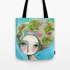 The Muse Of Spring Tote Bag
