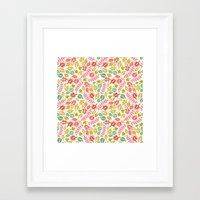 jungle Framed Art Prints featuring Jungle by Kristin Nohe Juchs
