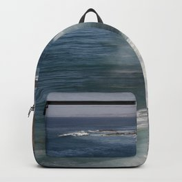 Surf On Wild West Coast Of Portugal Backpack