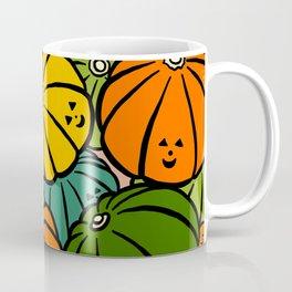 Halloween Pumpkins in Action Coffee Mug
