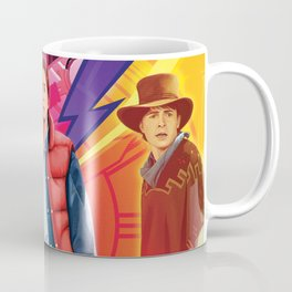 Back to the Future by Big Foot Studios Coffee Mug