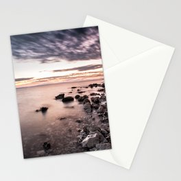 Disappearing clouds Stationery Cards