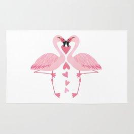 Flamingo Love. Rug