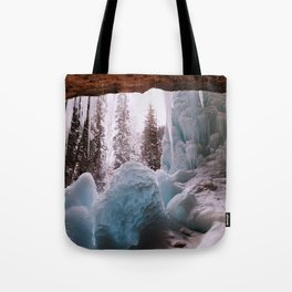 Hanging Lake Spouting Rock at Glenwood Canyon Glenwood Spring Area Colorado. Tote Bag