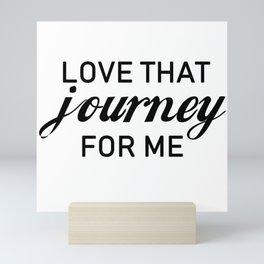 Love that journey for me. Rosebud motel. Rose apothecary. Schitts Creek Mini Art Print