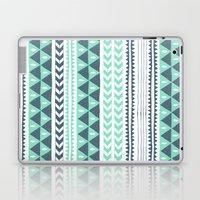 Winter Stripe Laptop & iPad Skin