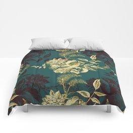 Illustrations of Florals Comforters