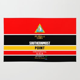 Southern Most Point, Key West, Florida/サザン・モスト・ポイント Rug